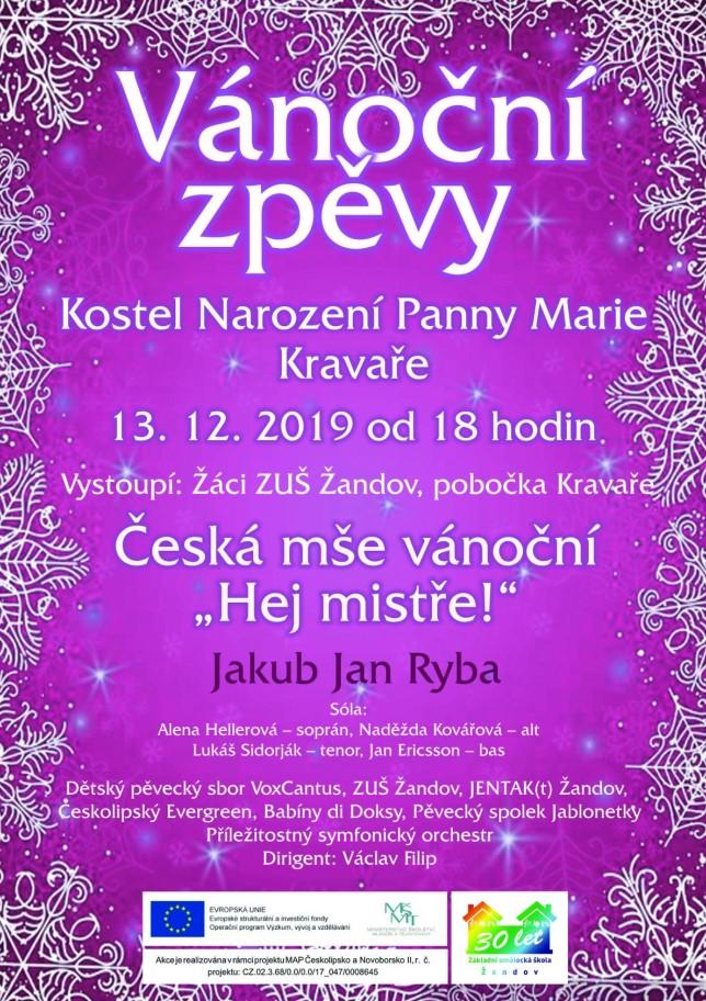 vanZpevy