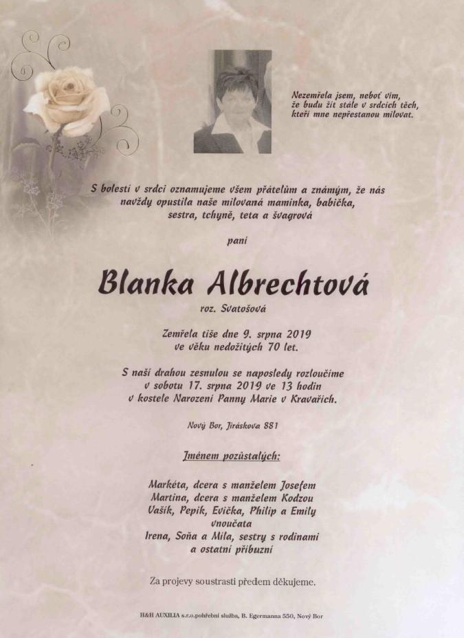 BlankaAlbrechtova