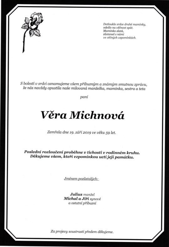 Vera Michnova