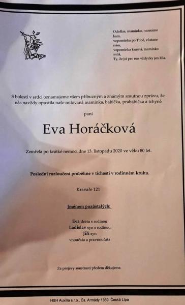 EvaHorackova