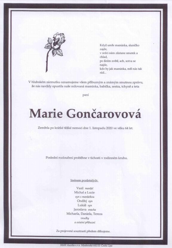 MarieGoncarovova