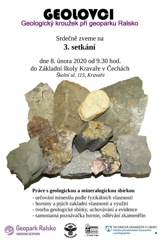 Pozvánka na 3. setkání geologického kroužku
